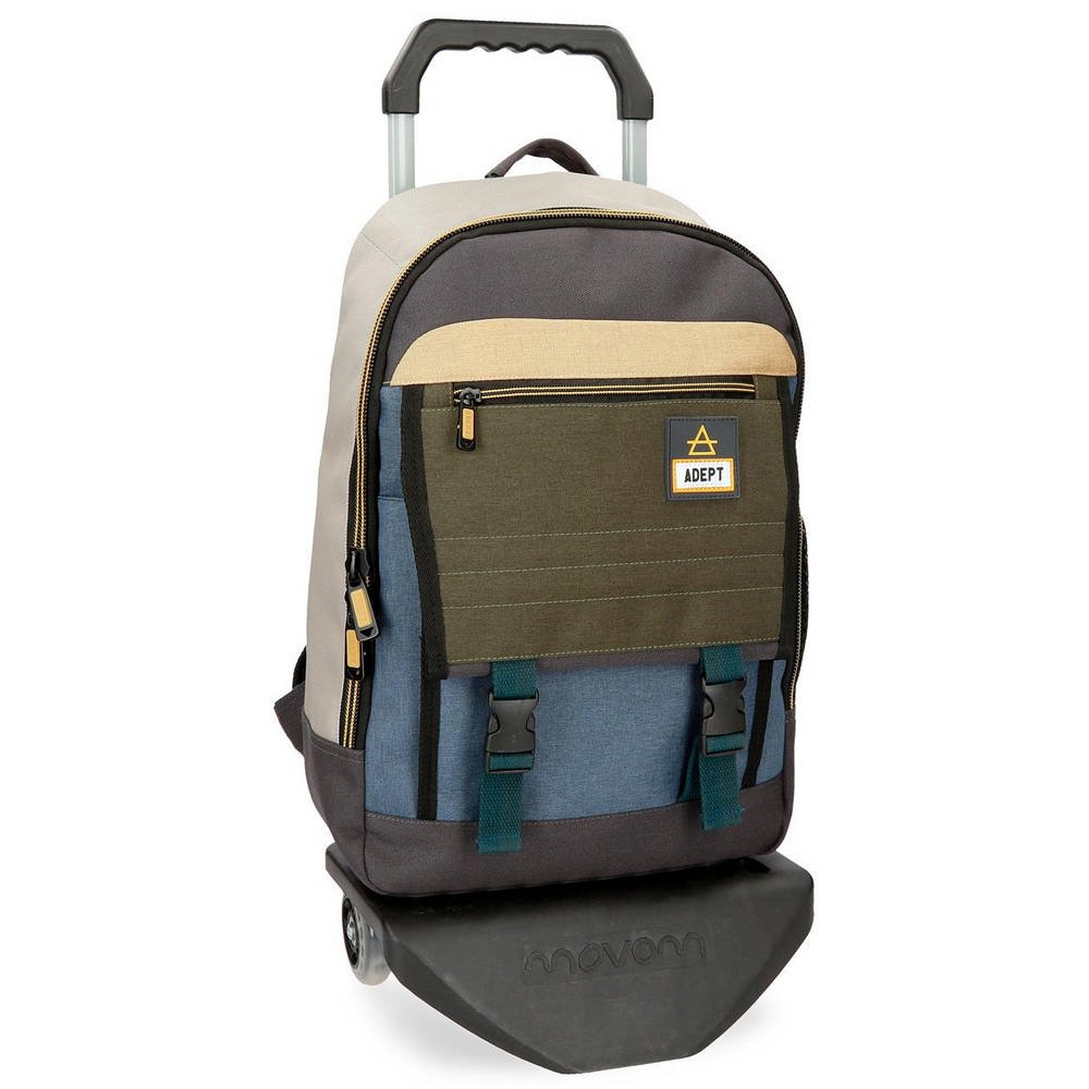 Adept Camper  13,3″ laptop backpack 42 cm, with trolley