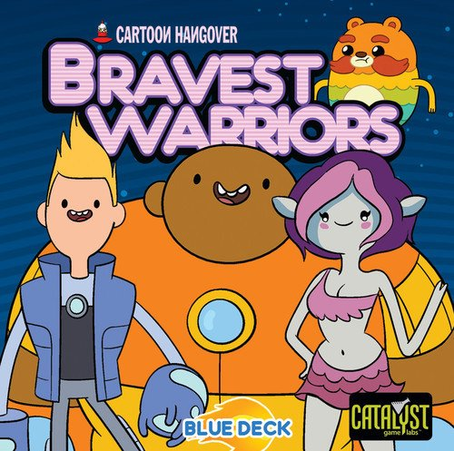 Catalyst Game Labs CAT73000 Encounters Bravest Warriors Dice Game, Blue