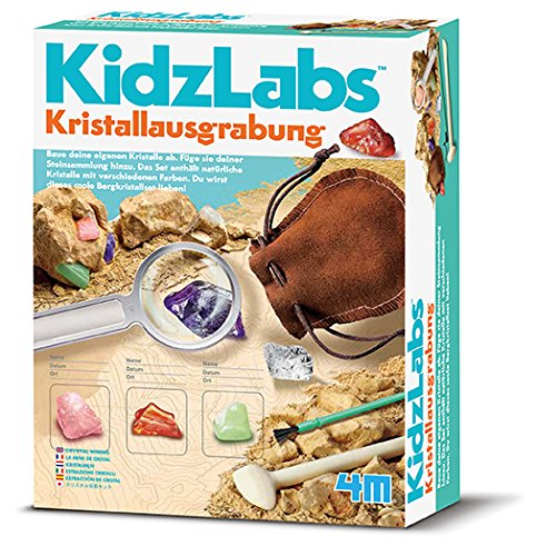 "4M 68555 ""Kidz Labs Crystal Mining Science Kit"