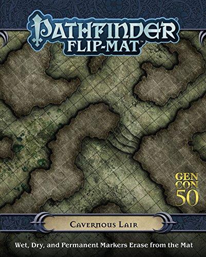 Pathfinder PZOGENFM001 Cavernous Lair Flip Mat