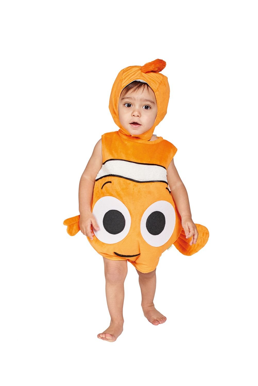 amscan DCNE-TA06 Children's Costume Nemo Plush Throw with Hat, 68-80 cm