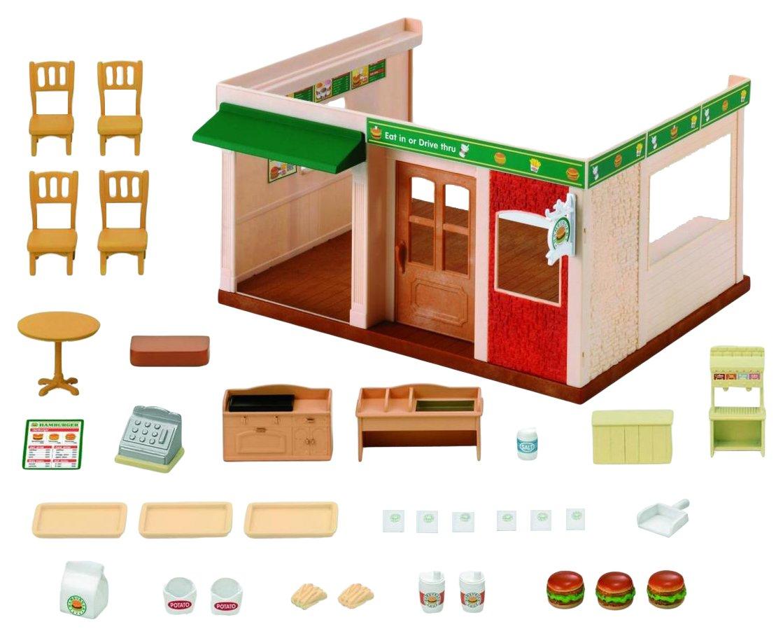 Sylvanian Families – Hamburger Restaurant Set