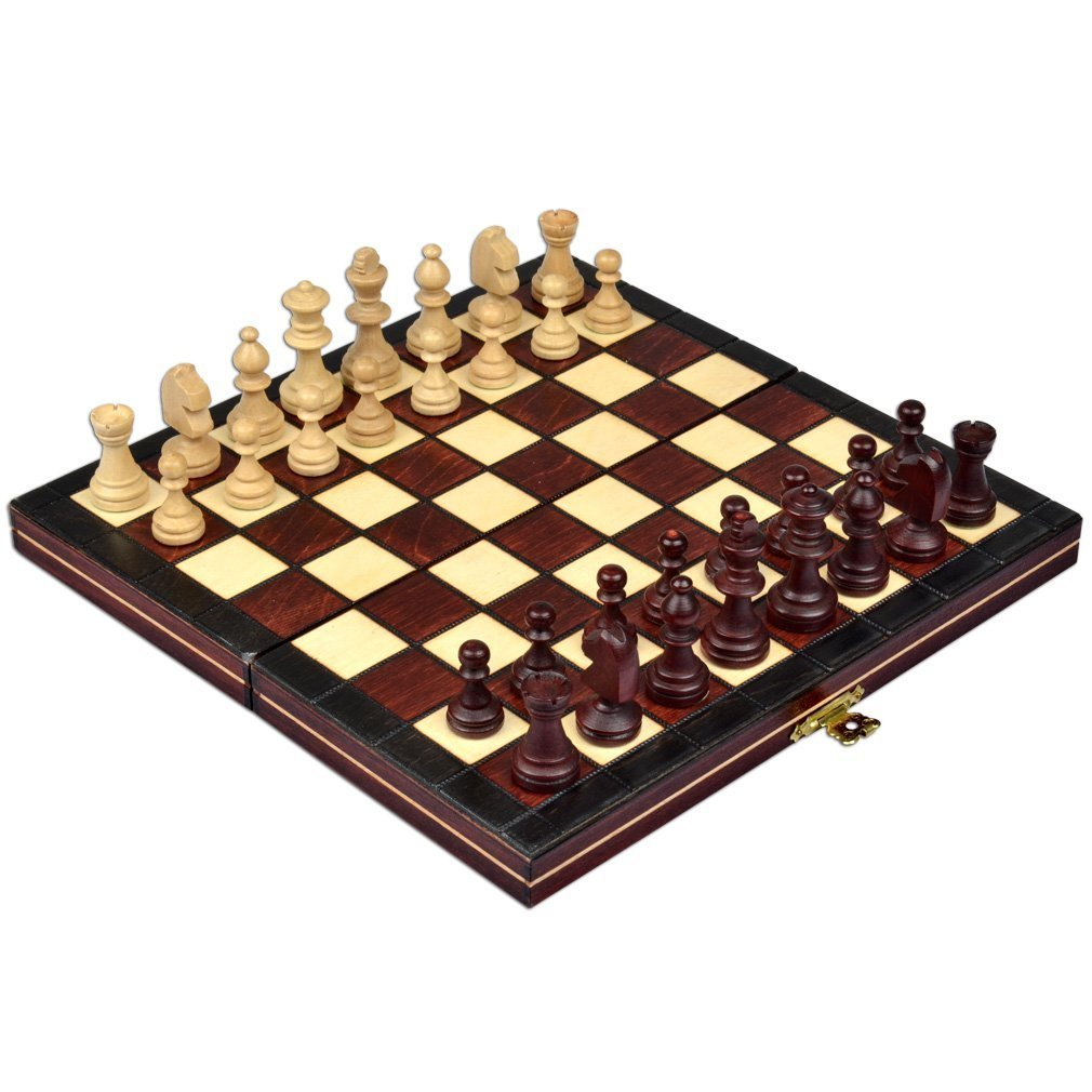 Continental Portable Magnetic Chess Set – Handcrafted in Poland, Small