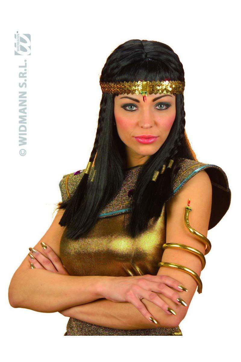 aptafêtes–AC0407 – Egyptian gilt serpent bracelet