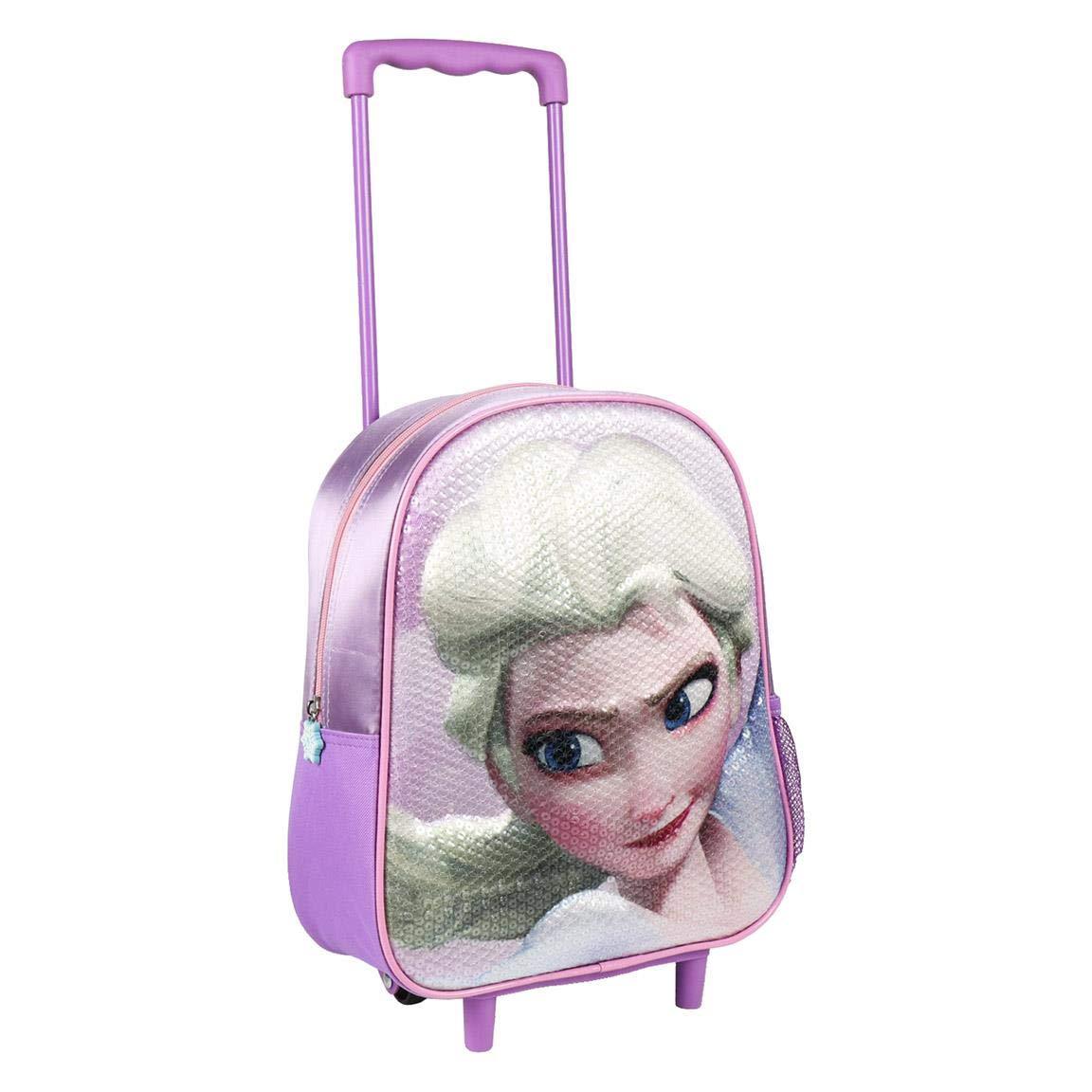 Artesania Cerda Mochila Carro Infantil 3D Frozen Children's Backpack, 31 cm, Purple (Morado)