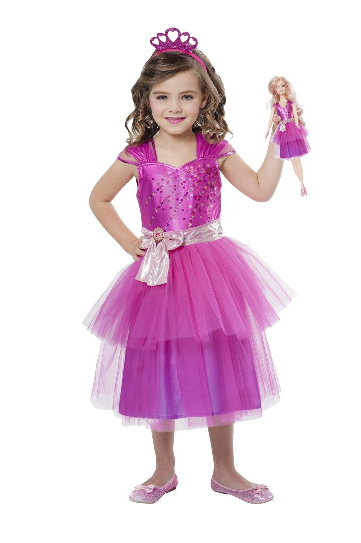 amscan Children's Costume Barbie Princess and Mini Me