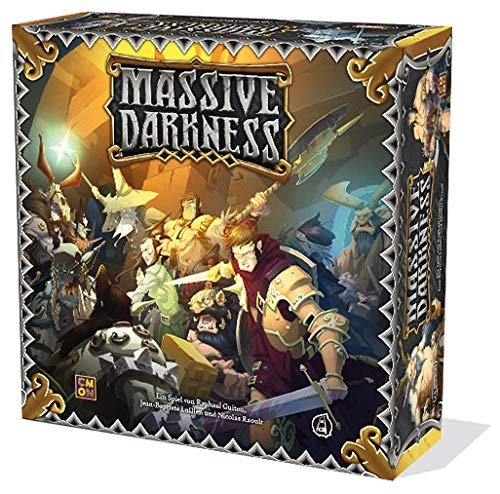 Cool Mini or Not CMN0041Massive Darkness–Base Game