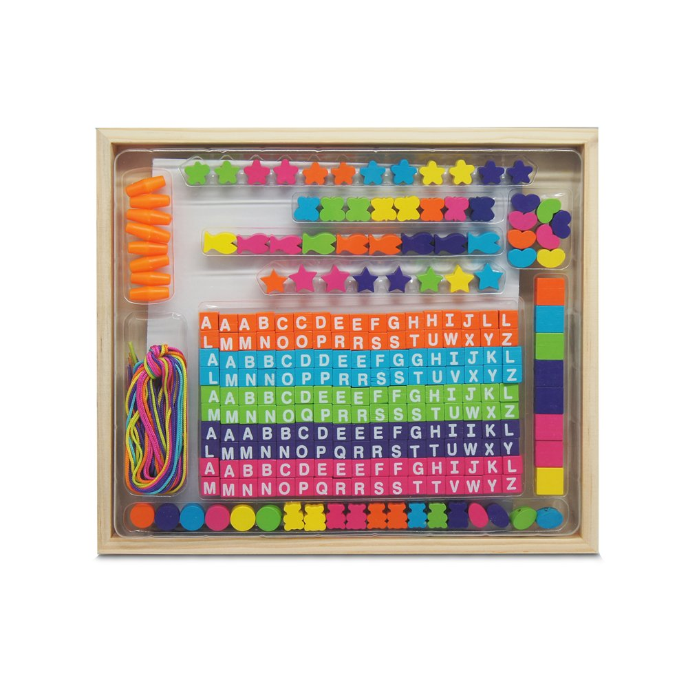 Tachan Wooden Box with Beads (CPA Toy 6341)