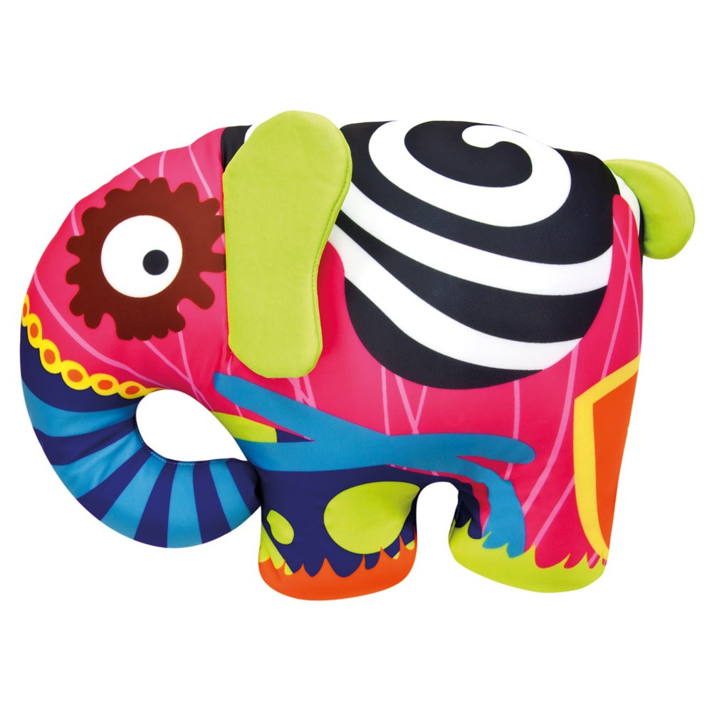 Bino 1 33024″ Elephant Doll, Multicolour, 39 x 30 cm