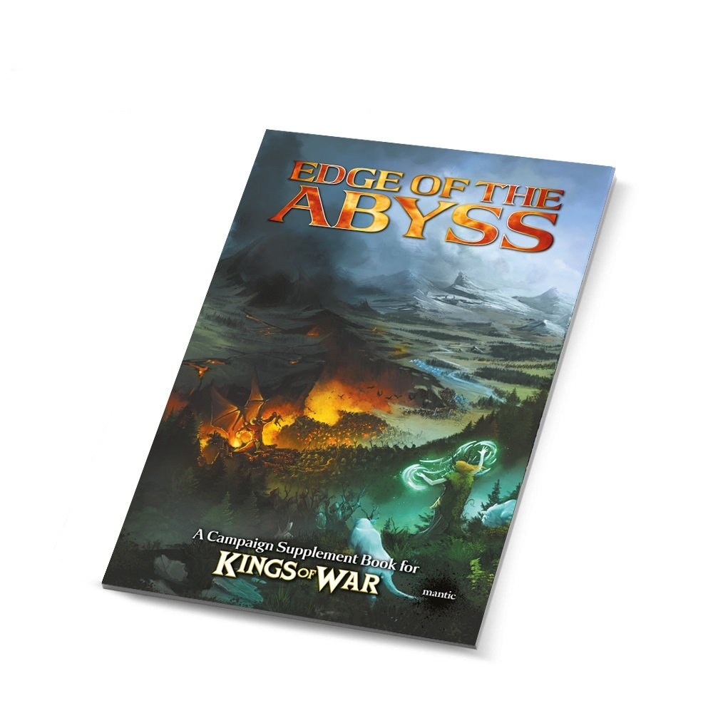 Mantic Games MGKW12 Edge of the Abyss – Summer Campaign Book