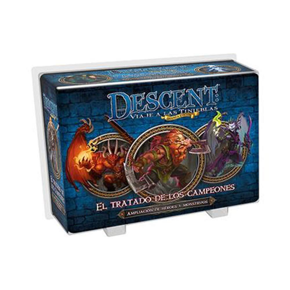 Fantasy Flight Games Descent- Second Ed. : The Treatment of Champions Multicolour (EDG0EDGDJ32)