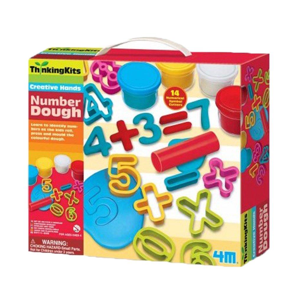 4M Thinking  Kits – Number Dough Kit