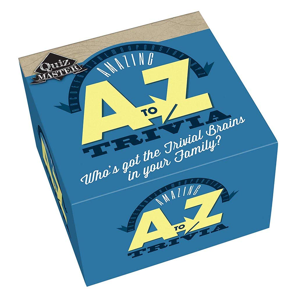 Cheatwell Games QuizMaster A-Z Trivia Game