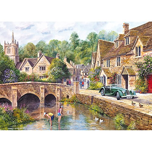 Gibsons Castle Combe Jigsaw Puzzle, 1000 piece