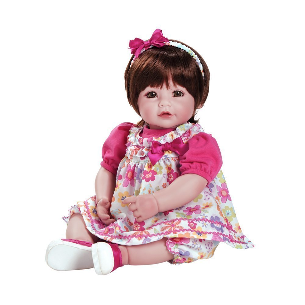 Adora Toddler Doll 20″ Lifelike Realistic Weighted Doll Gift Set for Children 6+ Huggable Vinyl Cuddly Soft Body Toy Love & Joy