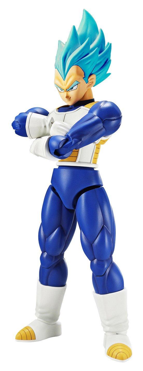 Bandai Hobby 19766 God Super Saiyan Vegeta Figure, White, 15 cm
