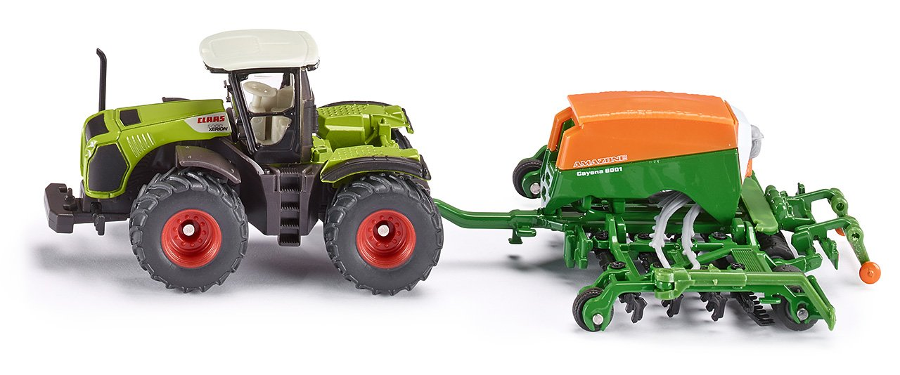 1:87 Claas With Amazone Cayena 6001 Seeder
