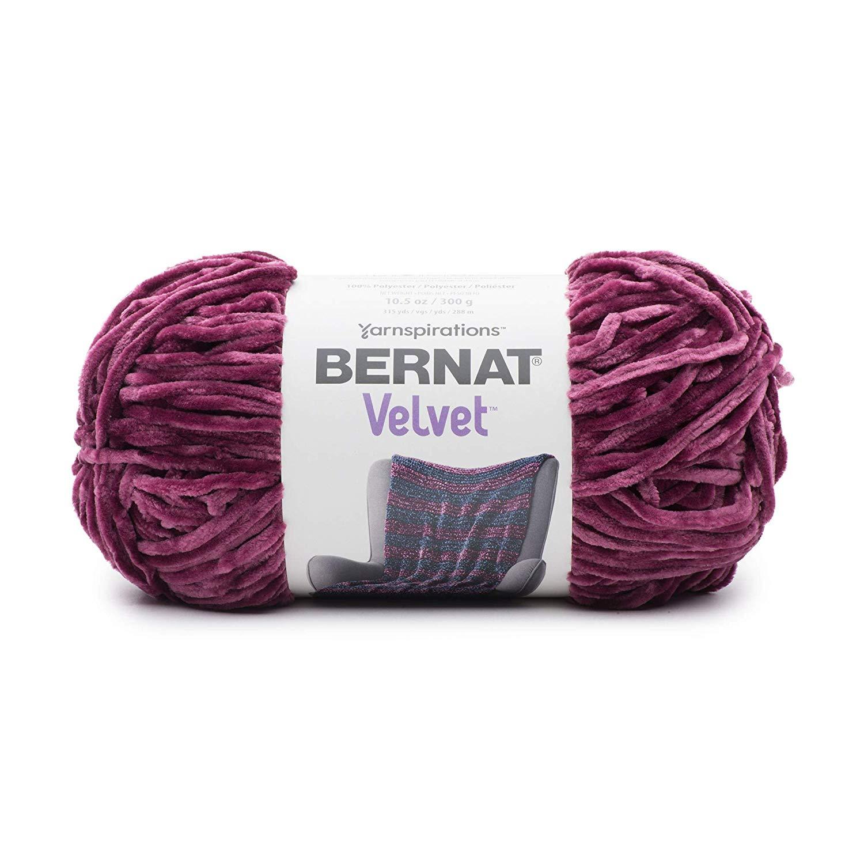 Bernat – Velvet 300g – Burgundy Plum