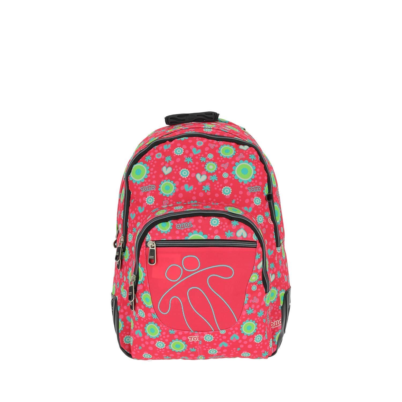 TOTTO Mochilas Escolares, Grandes Infantiles En Varios Colores Y Estampados Children's Backpack, 44 cm, Multicolour (Multicolor)