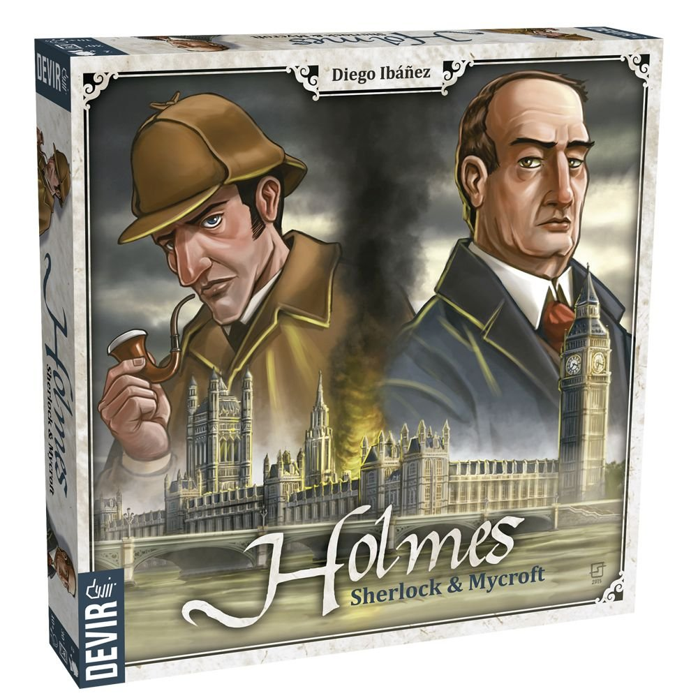 Devir–Holmes, Sherlock & Mycroft, Table Game (bgholmes)