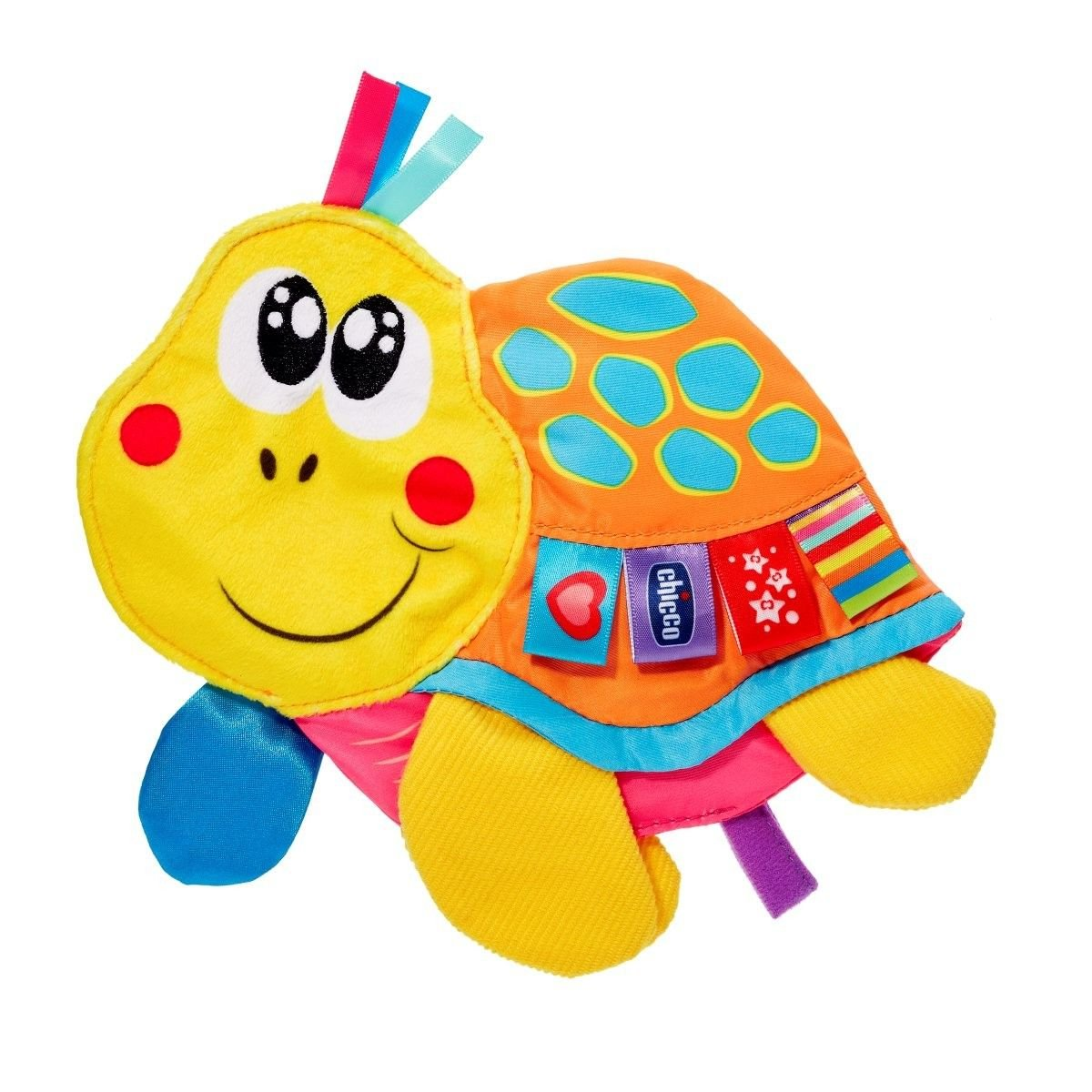 Chicco 00007895000000Label Tardy Turtle Animals, Multi-Colour
