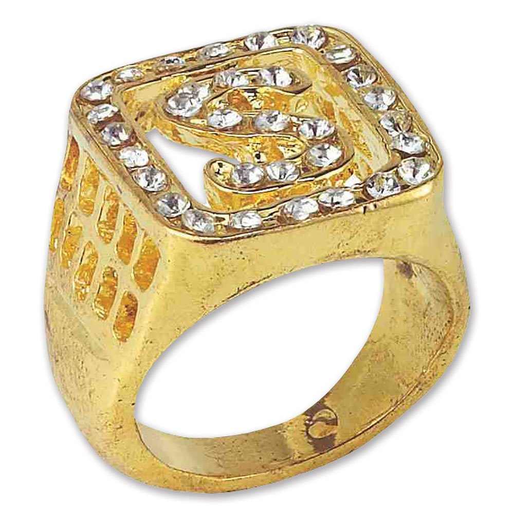Bristol Novelty BA878 Big Daddy Ring, Mens, One Size