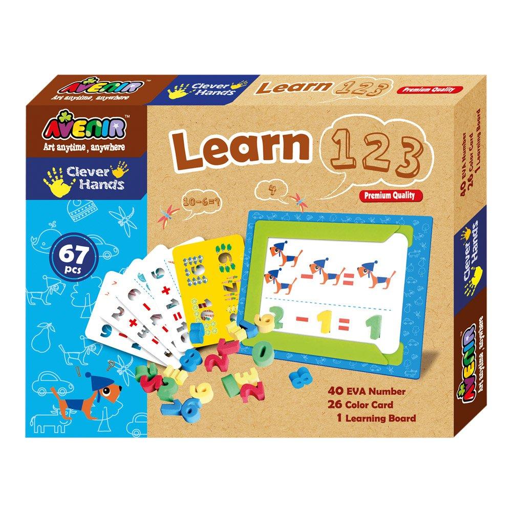 Avenir CH1107 none Bino We Learn to Count, Multicoloured