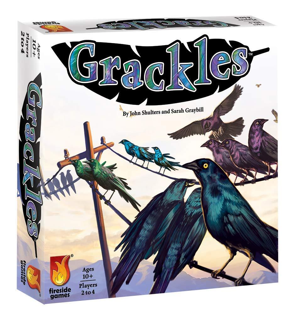 Fireside Games FSG01011 Grackles, Multi-Colour