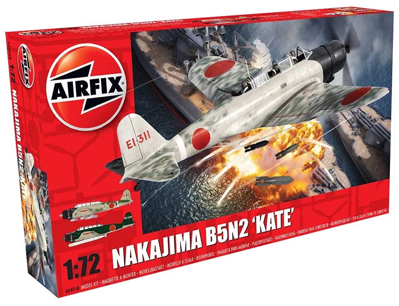 Airfix 1:72 Scale Nakajima B5N2 Kate Model Kit