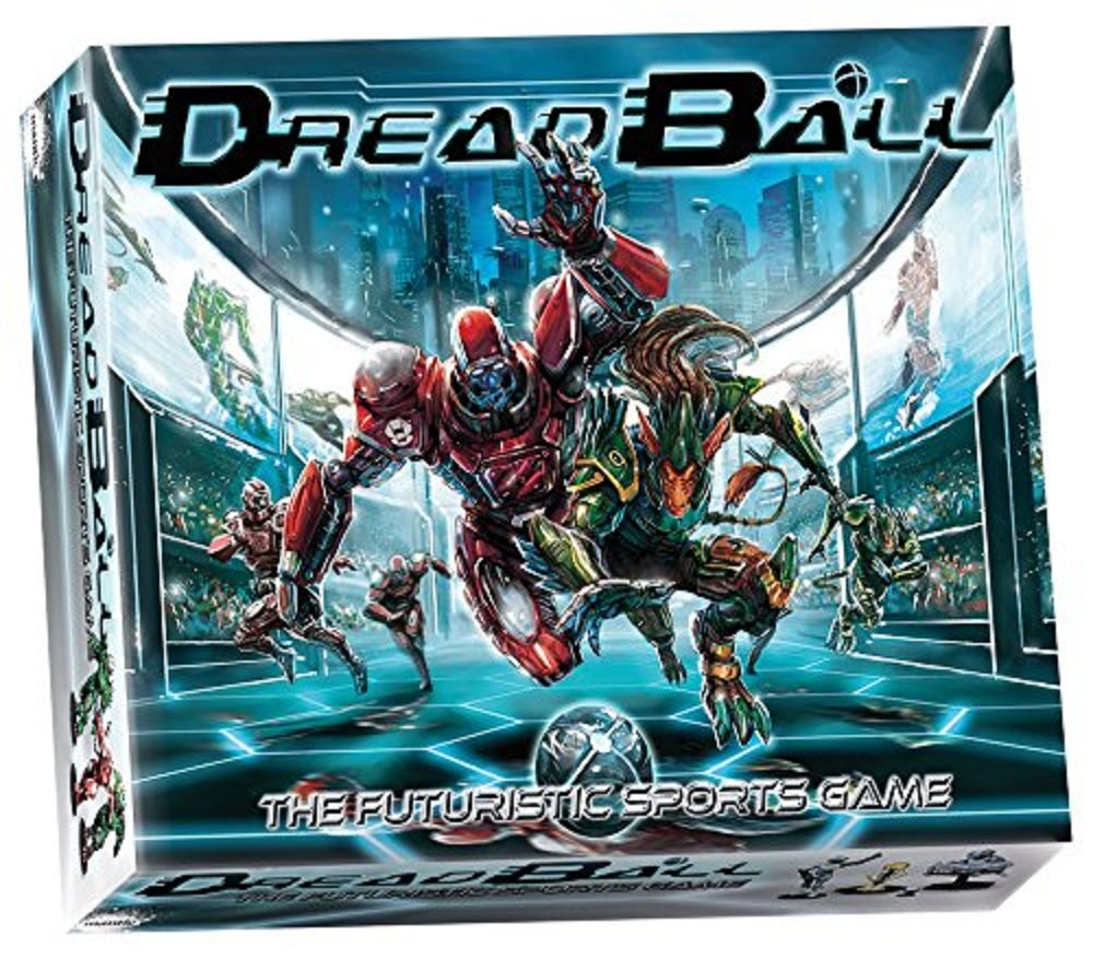 Mantic M101 – DreadBall 2nd Edition – Futuristic Sports Sci-Fi Strategy Tabletop Game – Includes 29 x 28mm Miniatures