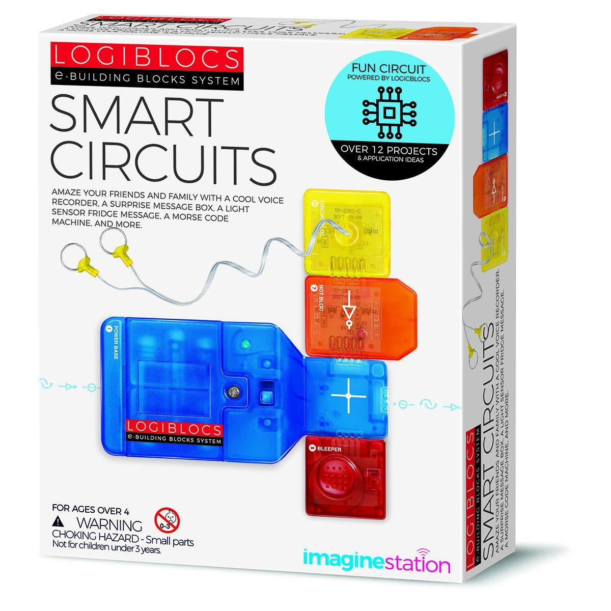 4M 406806 Logiblocs Smart Circuit, White