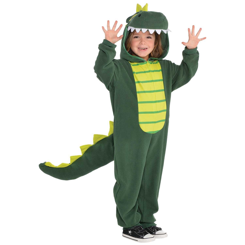 Amscan Dress Up 9902084 Dinosaur Dress Up, Multi-Colour, Large 6-8 Years