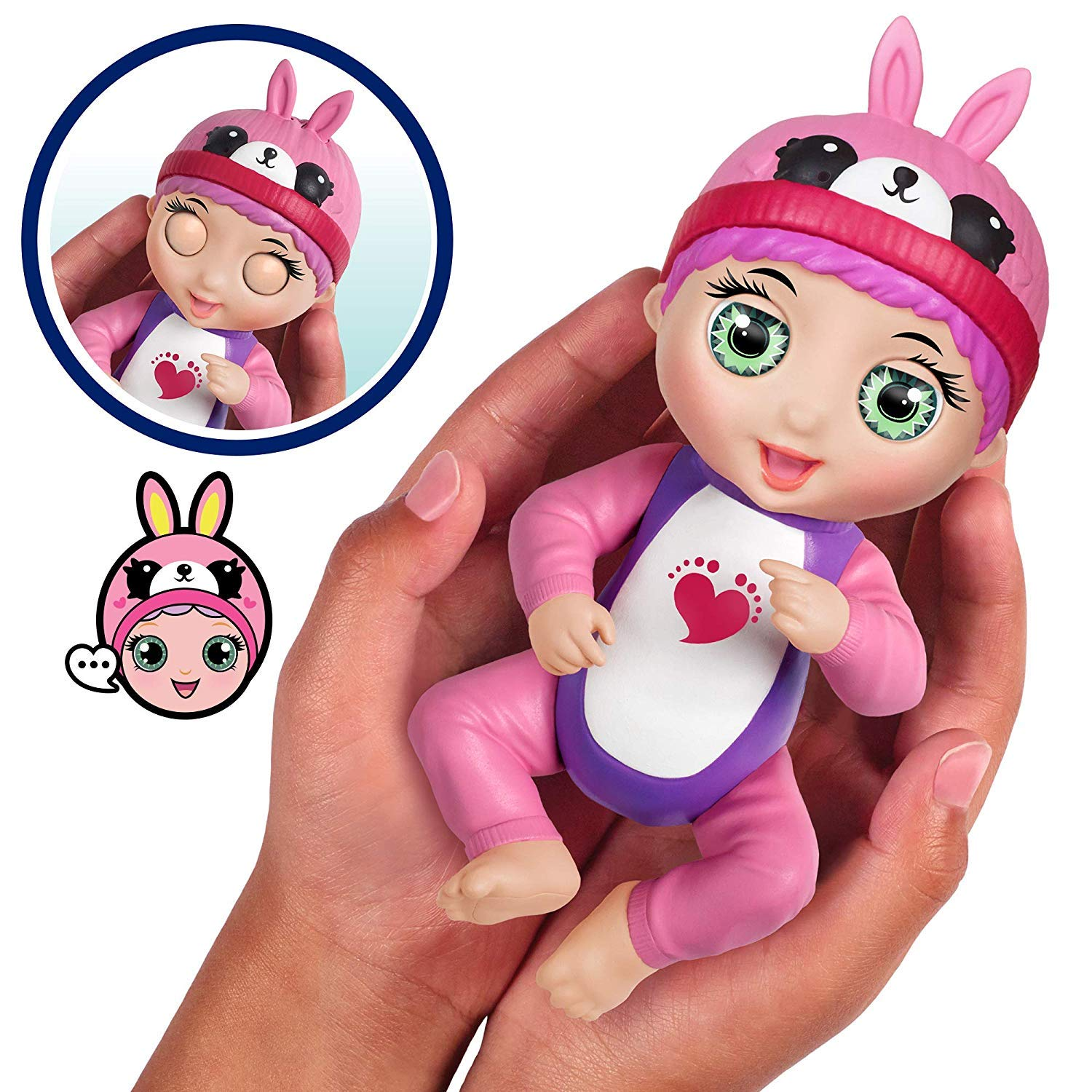 Bandai Tiny Toes Mini Interactive Doll, 82795