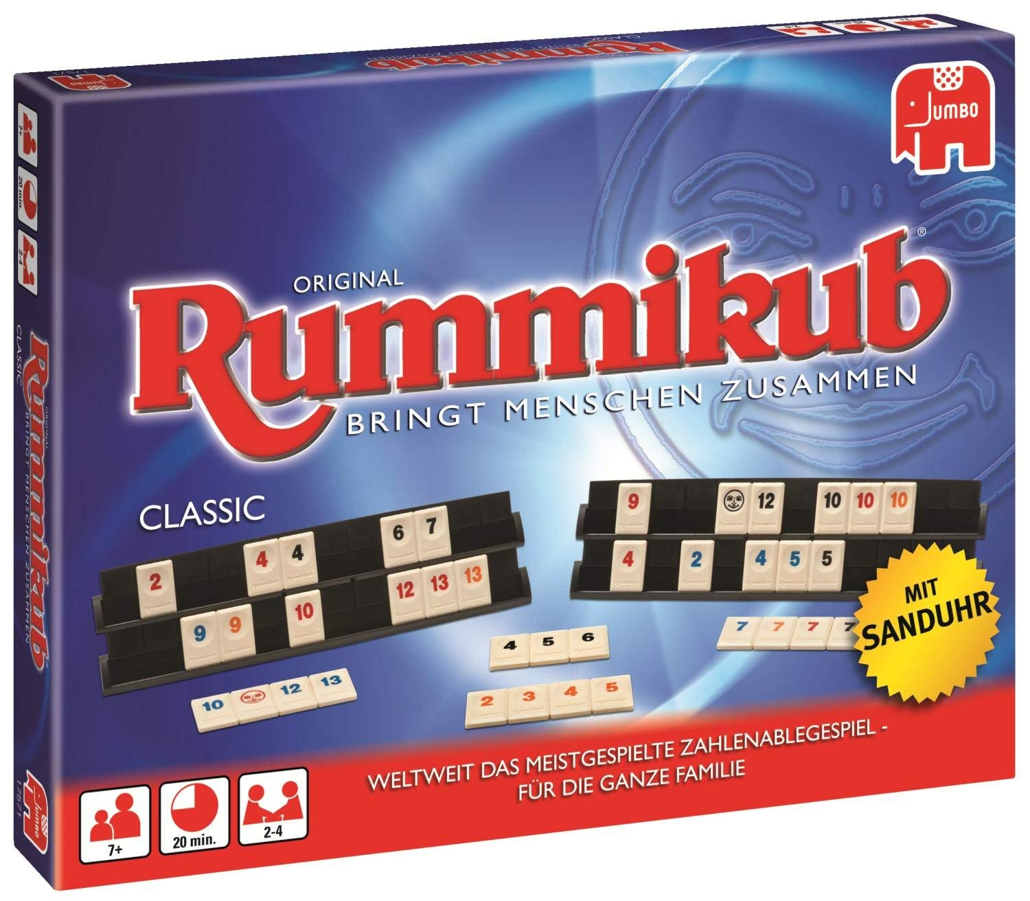 "Jumbo 17571 ""Original Rummikub Classic Board Game"