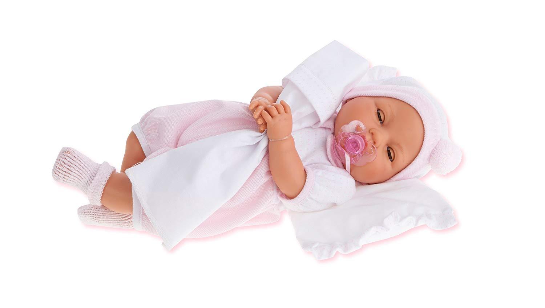 ANTONIO JUAN aj1444–Baby Ojo movible–Doll Realistic, Multi-Colour