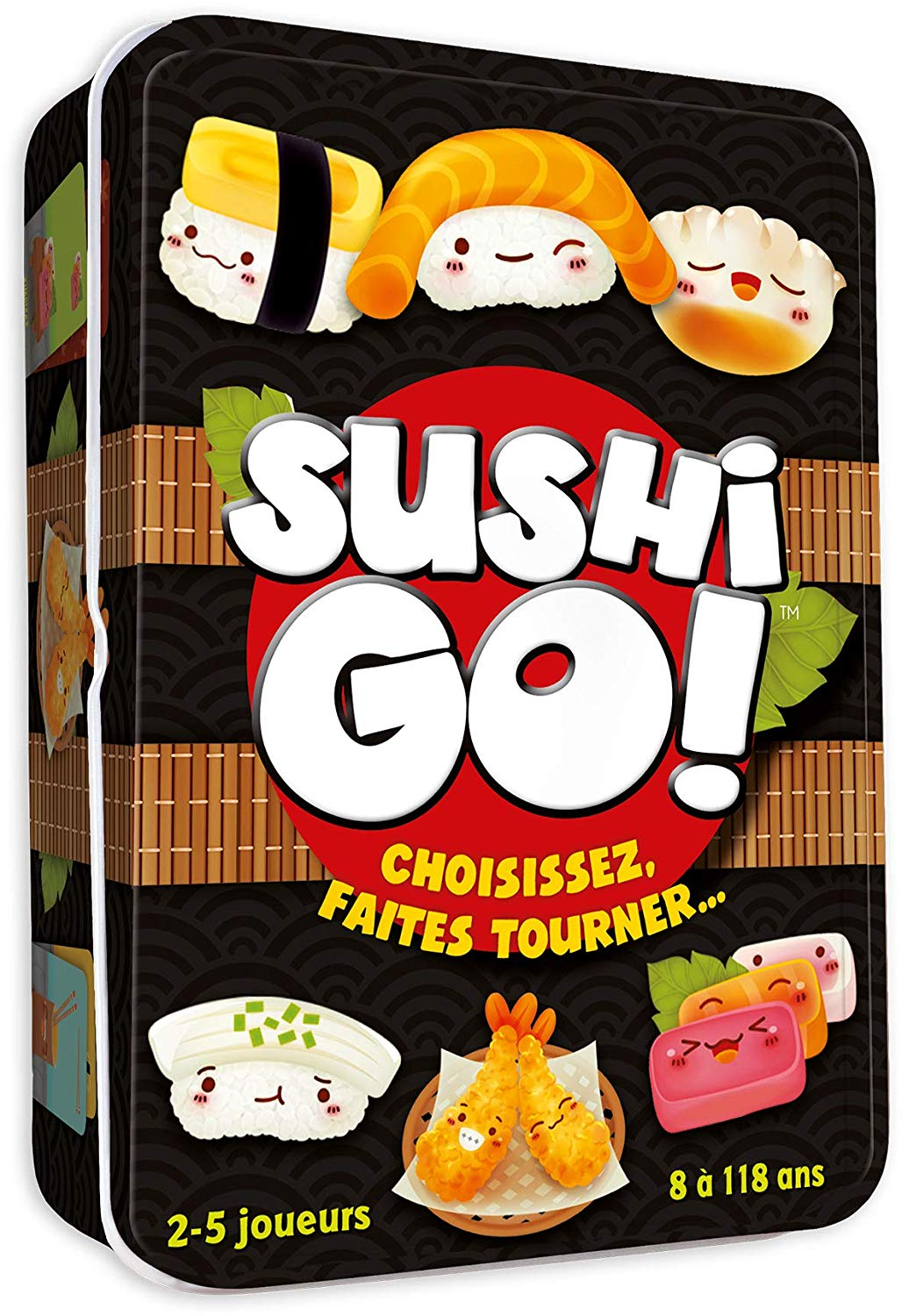 Asmodee Sushi Go, CGSUS01, Mood Game