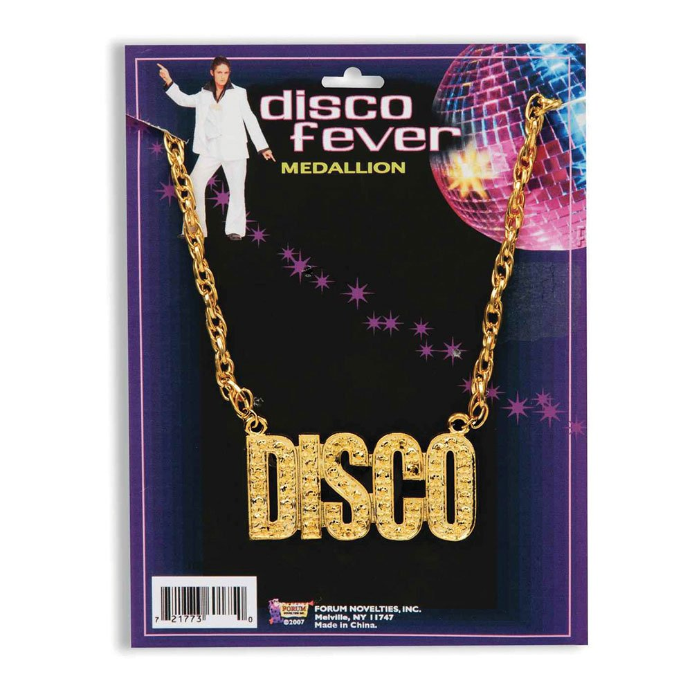 Bristol Novelty BA1081 Disco Necklace, Womens, One Size