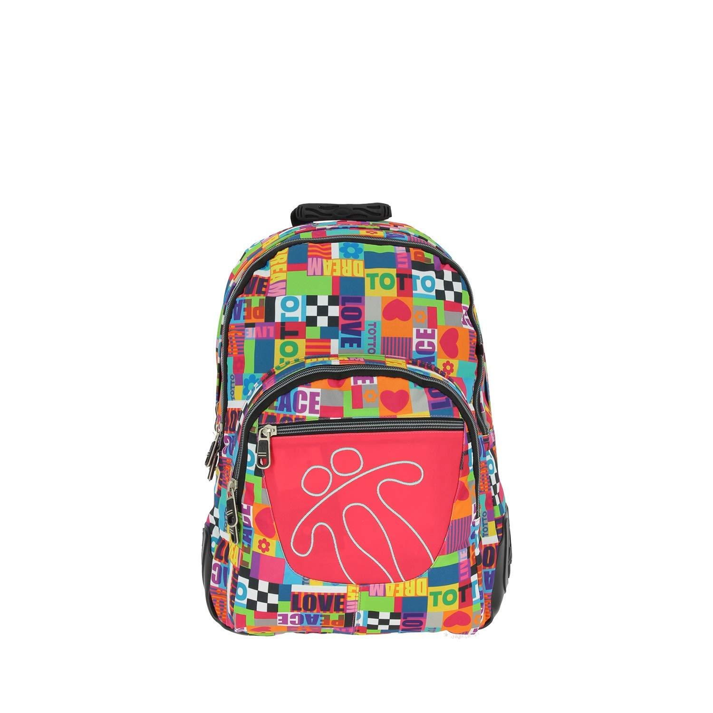 TOTTO 2018 Children's Backpack, 44 cm, Multicolour (Multicolor)