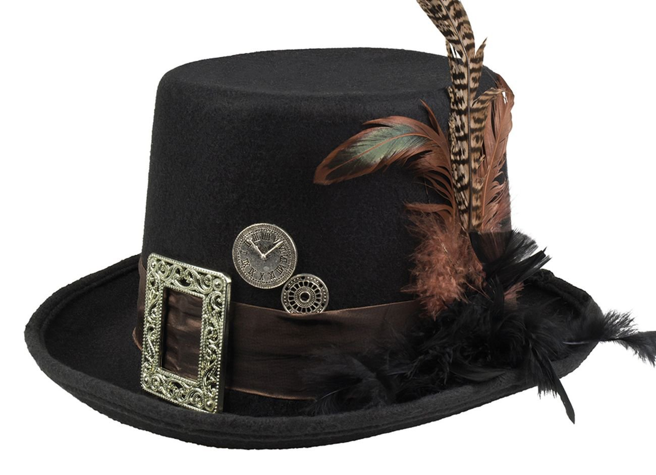 'Boland 54501Plume Punk Lion Hat One Size