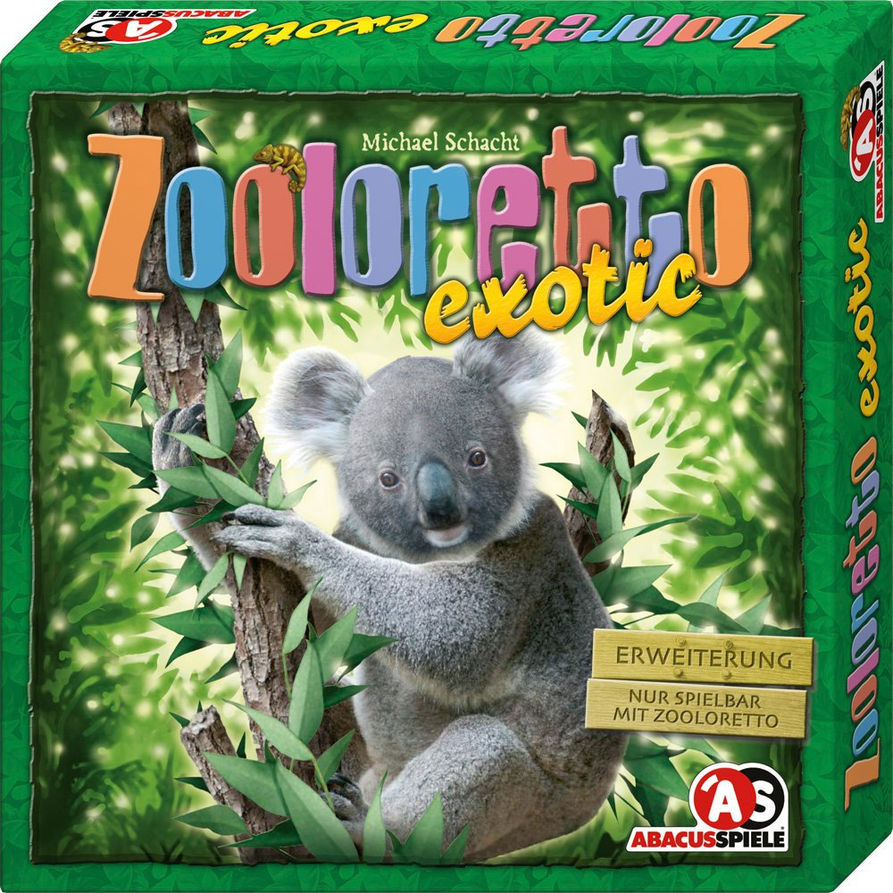 Abacus Spiele ABA04092 Zooloretto Exotic Erweiterung Game