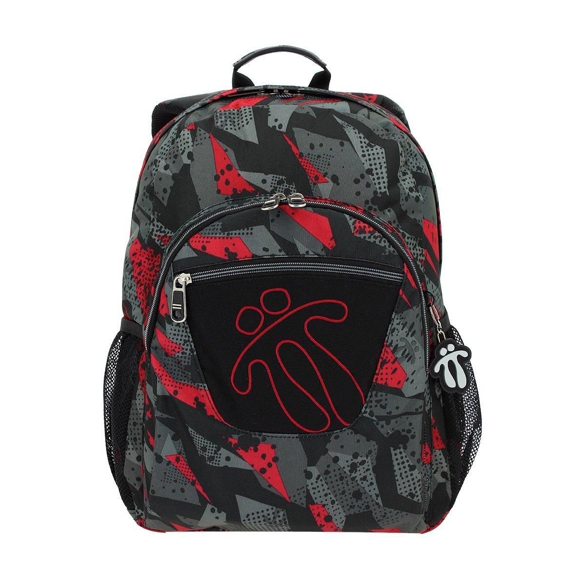 TOTTO Mochila Escolar Adaptable A Carro, Grande Infantil – Mochilas Children's Backpack, 44 cm, 20 liters, Multicolour (Multicolor)