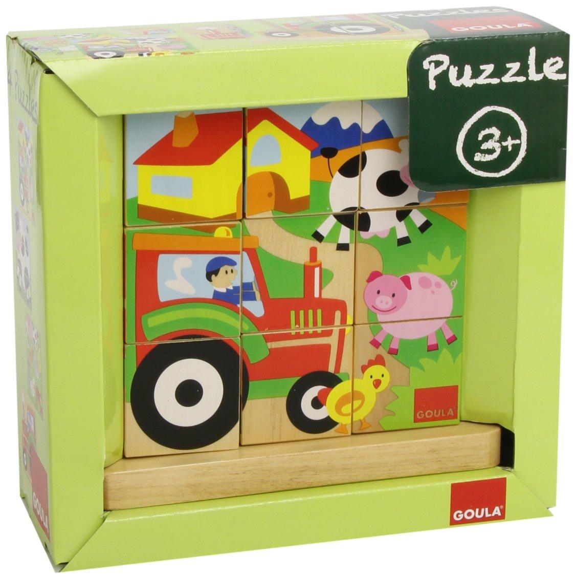 Goula 9 Cubes Farm Cubic Puzzle