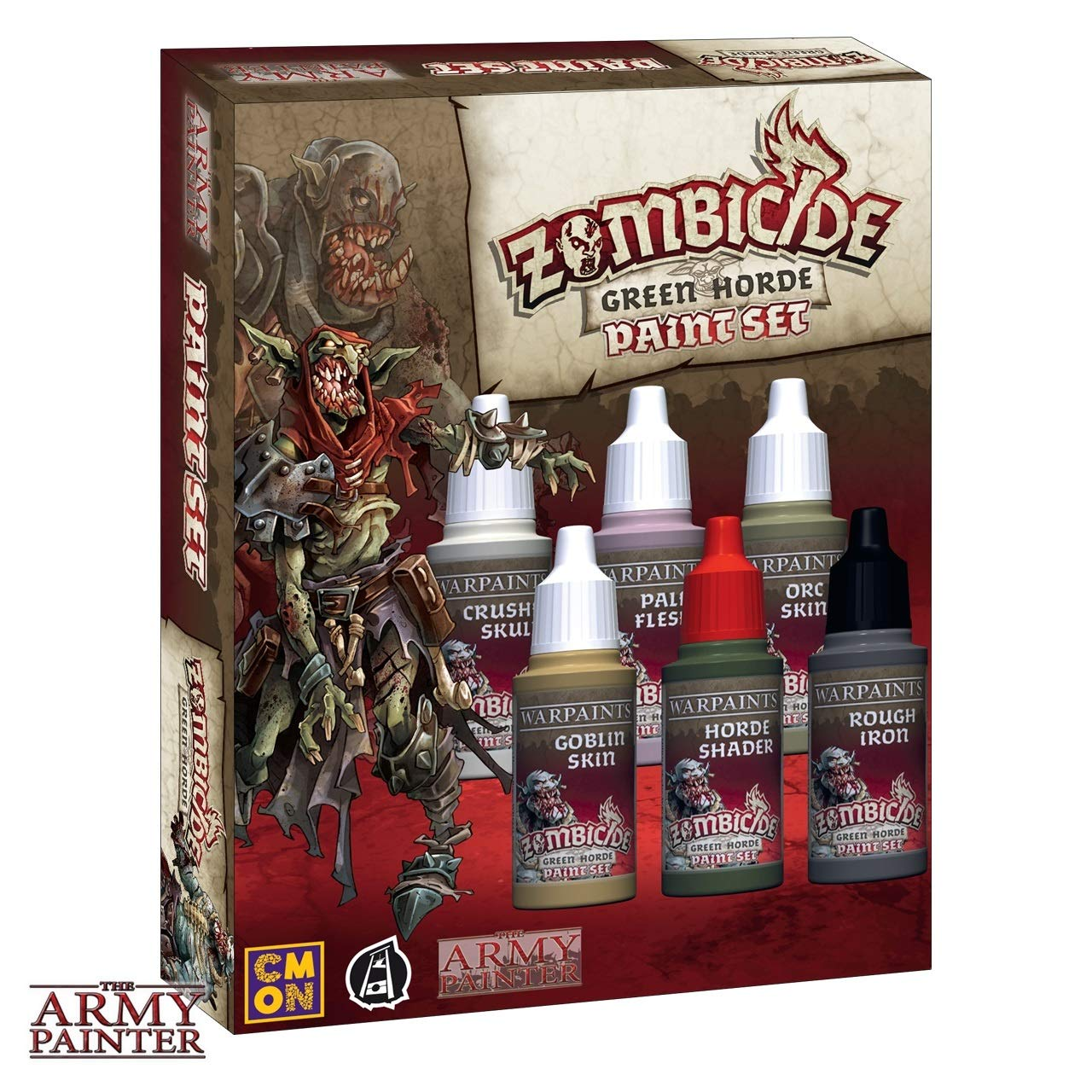 Army Painter ARM08031Horde Paint Set Zombicide Green