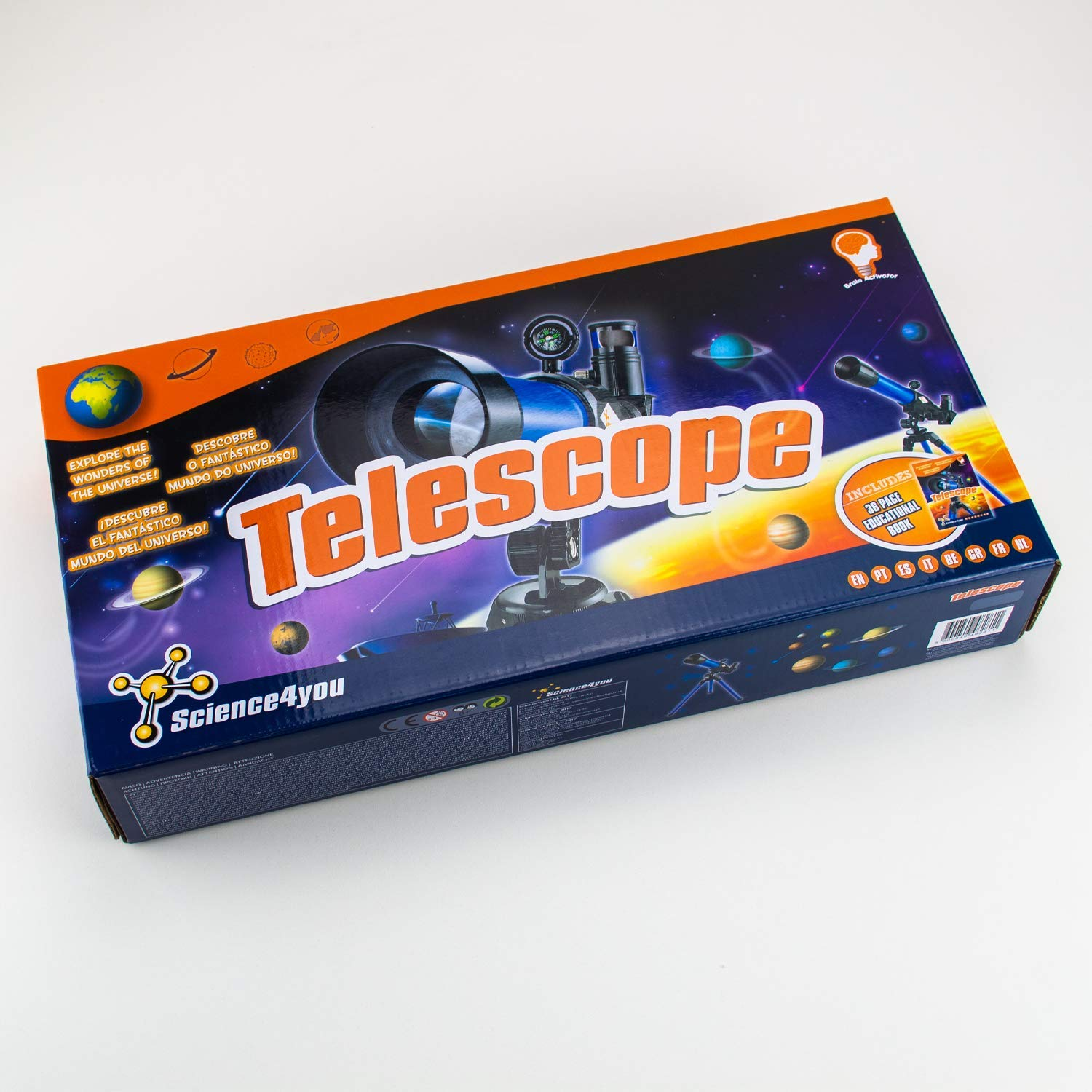 Science4you Telescope Educational Science Toy STEM Toy ...