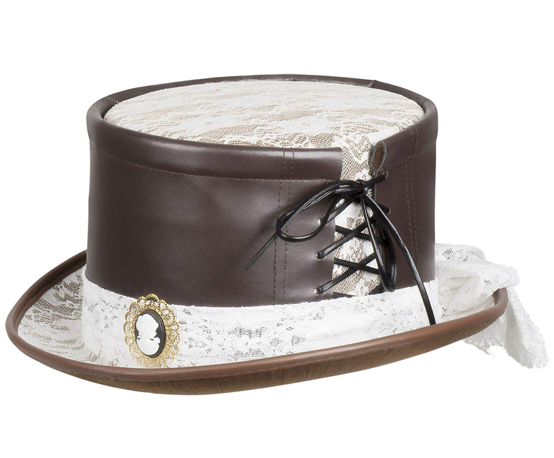 Boland 54539 Steambride Hat – Brown/White