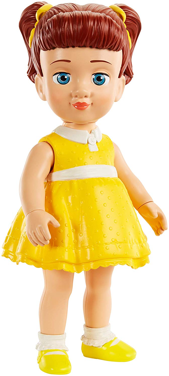 Disney Pixar Toy Story 4 Gabby Gabby Figure, 9.7″ Tall, Posable Character Figure for Kids 3 Years and Older