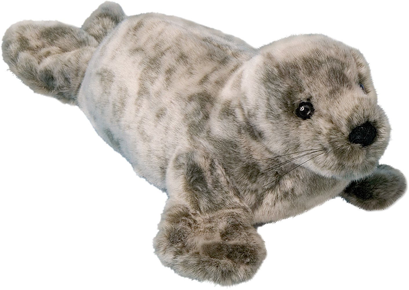 "Cuddle Toys 260 Speckles Monk Seal Doll Plush, 12""/30 cm Long"