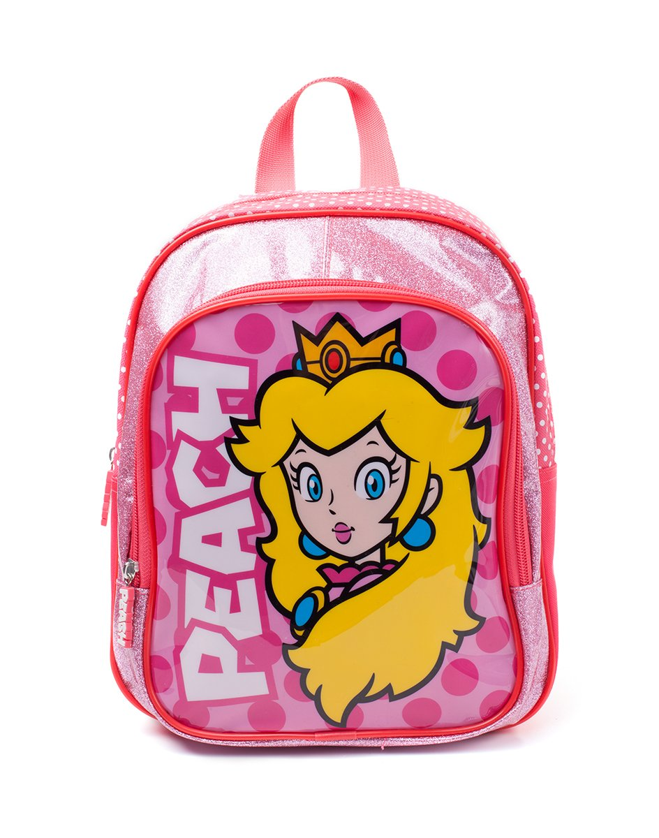 Nintendo Super Mario Broscess Peach Kids White (Bpy10127Ntn) Children's Backpack, 30 cm, Pink