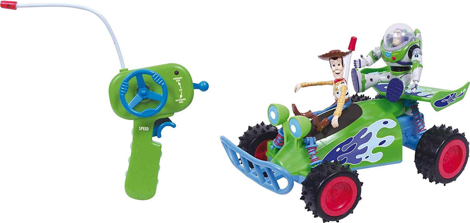 Download Toy Story Radio Controlled Car (Buzz & Woody) - TopToy
