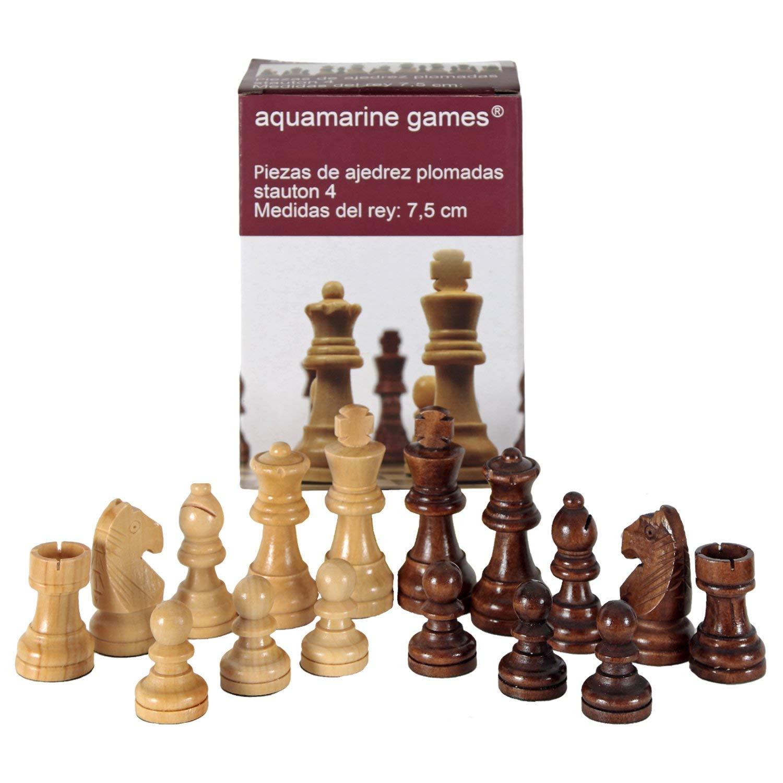 Aquamarine Games–Stauton 4, Pieces of Chess (compudid CP002)